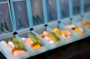 Pills I take each morning.